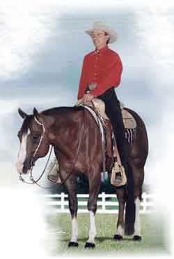 Red Hot Impulse, a crop-out Quarter Horse