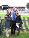 Ernie Bailey with Samantha Brooks and Rebecca Bellone