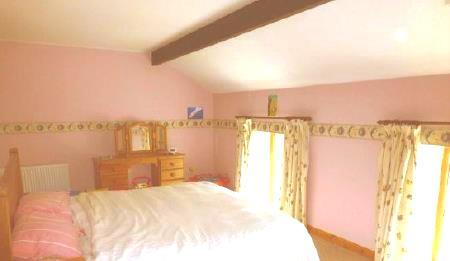 Huge master bedroom (super-king bed, plenty of room could fit another!)