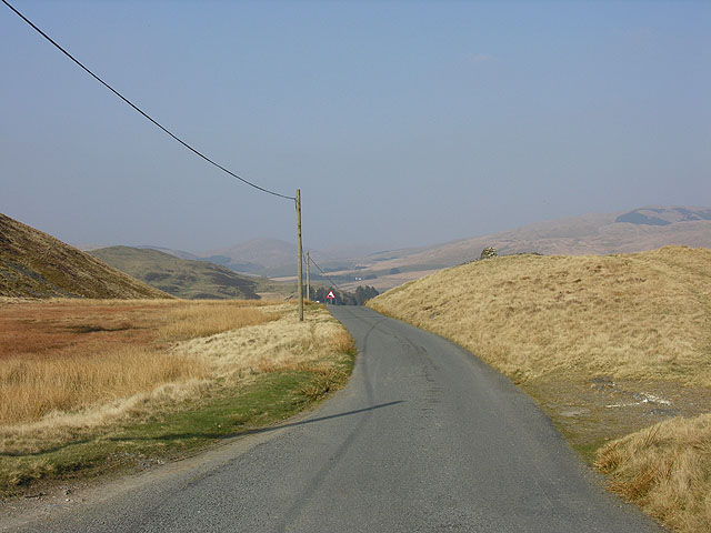 Road through the common.